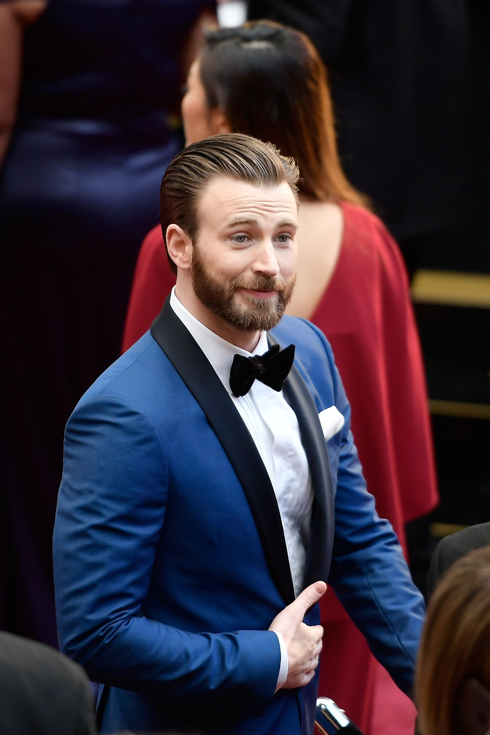 Chris Evans 'always looking for a way out' of acting