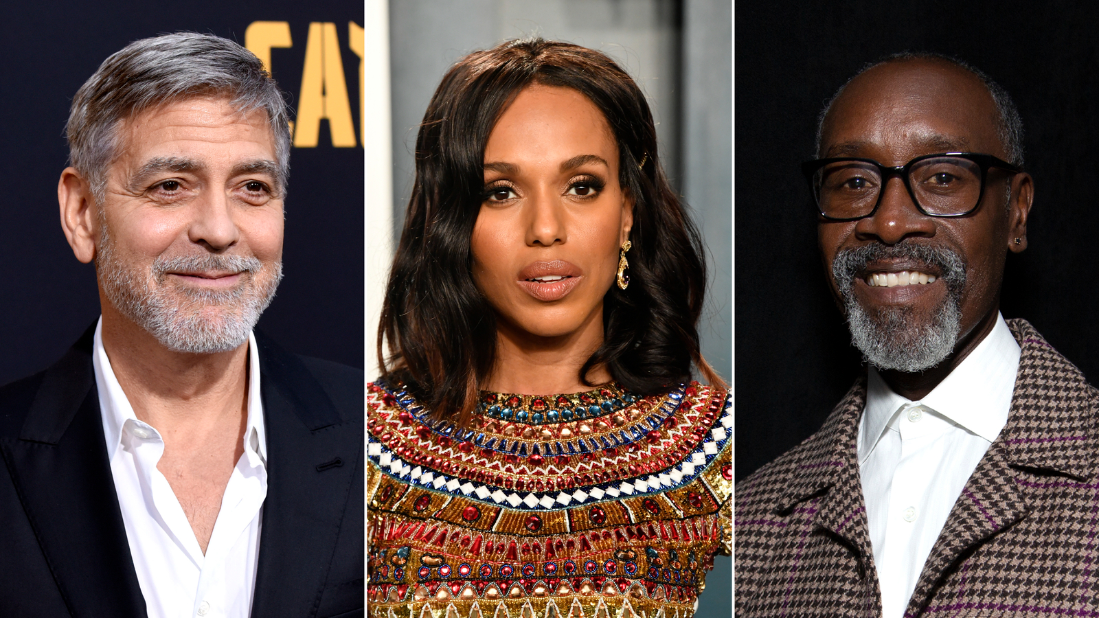 George Clooney, Kerry Washington, Don Cheadle and more back Los Angeles high school aimed at making Hollywood more inclusive