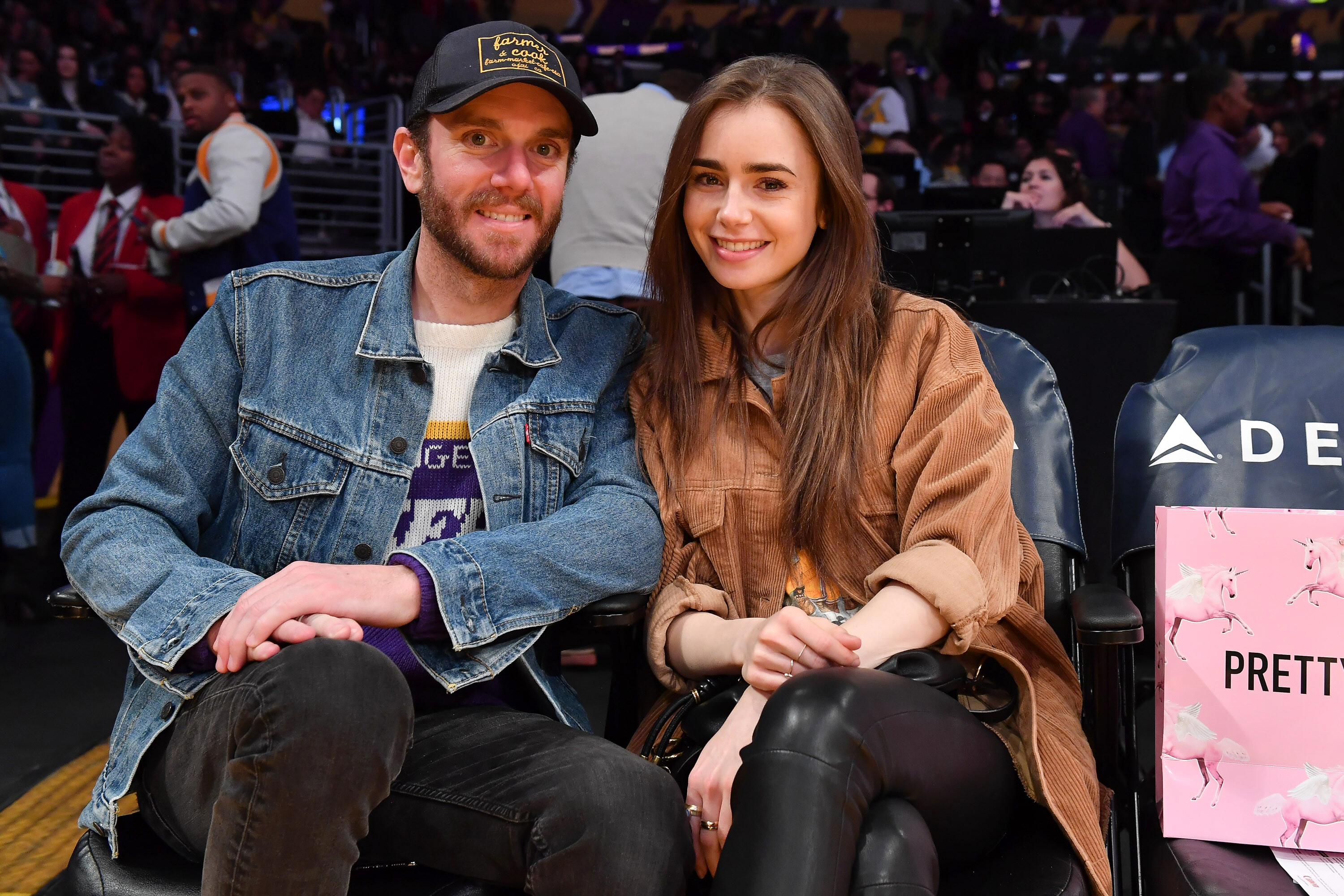 Lily Collins marries Charlie McDowell