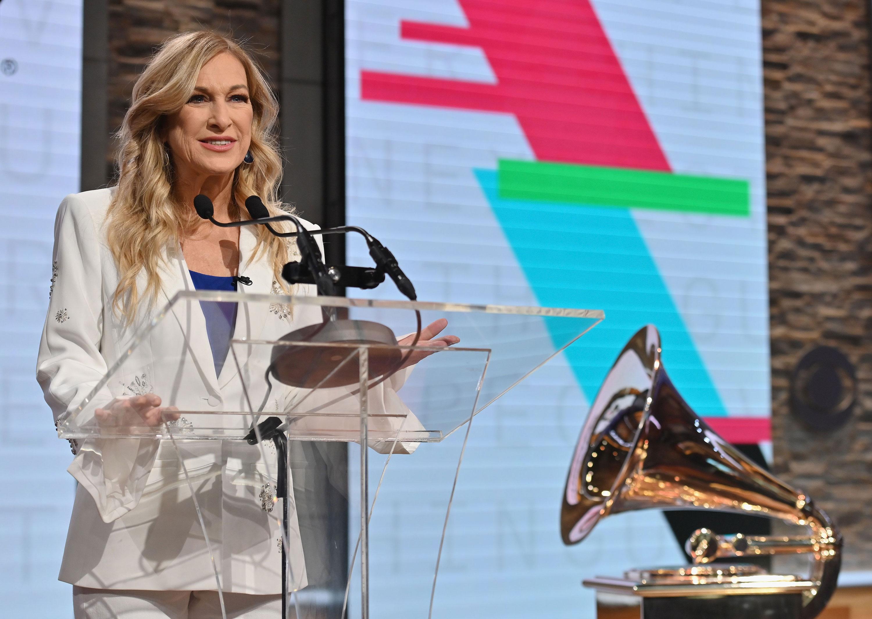 Former Grammys head Deborah Dugan sues recording academy, alleges sexual harassment