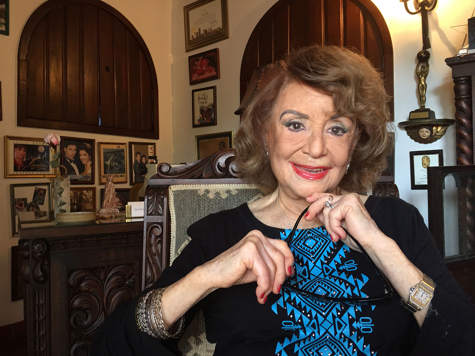 Delia Fiallo, known as 'the mother of the Latin American soap opera,' dies at 96
