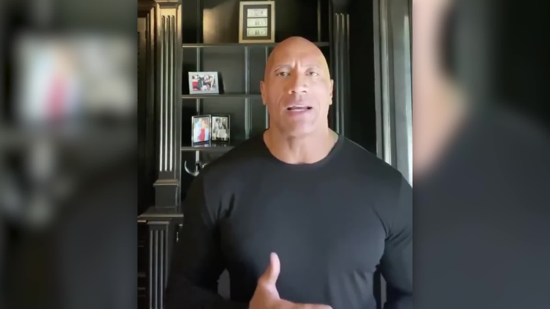 Dwayne Johnson makes powerful plea for leadership