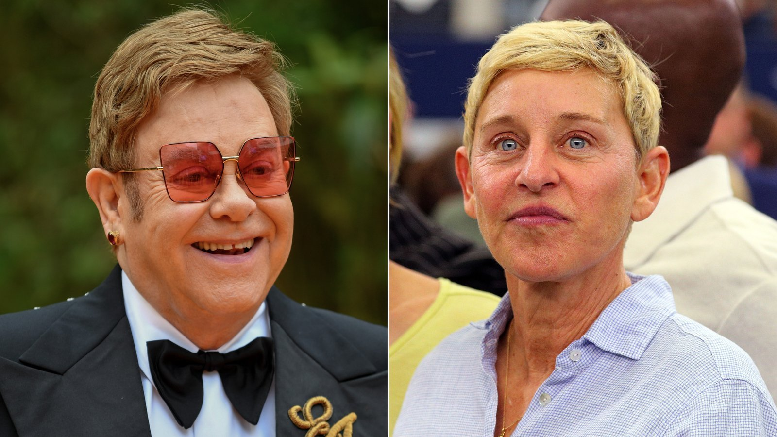 Elton John defends Ellen DeGeneres' friendship with George W. Bush