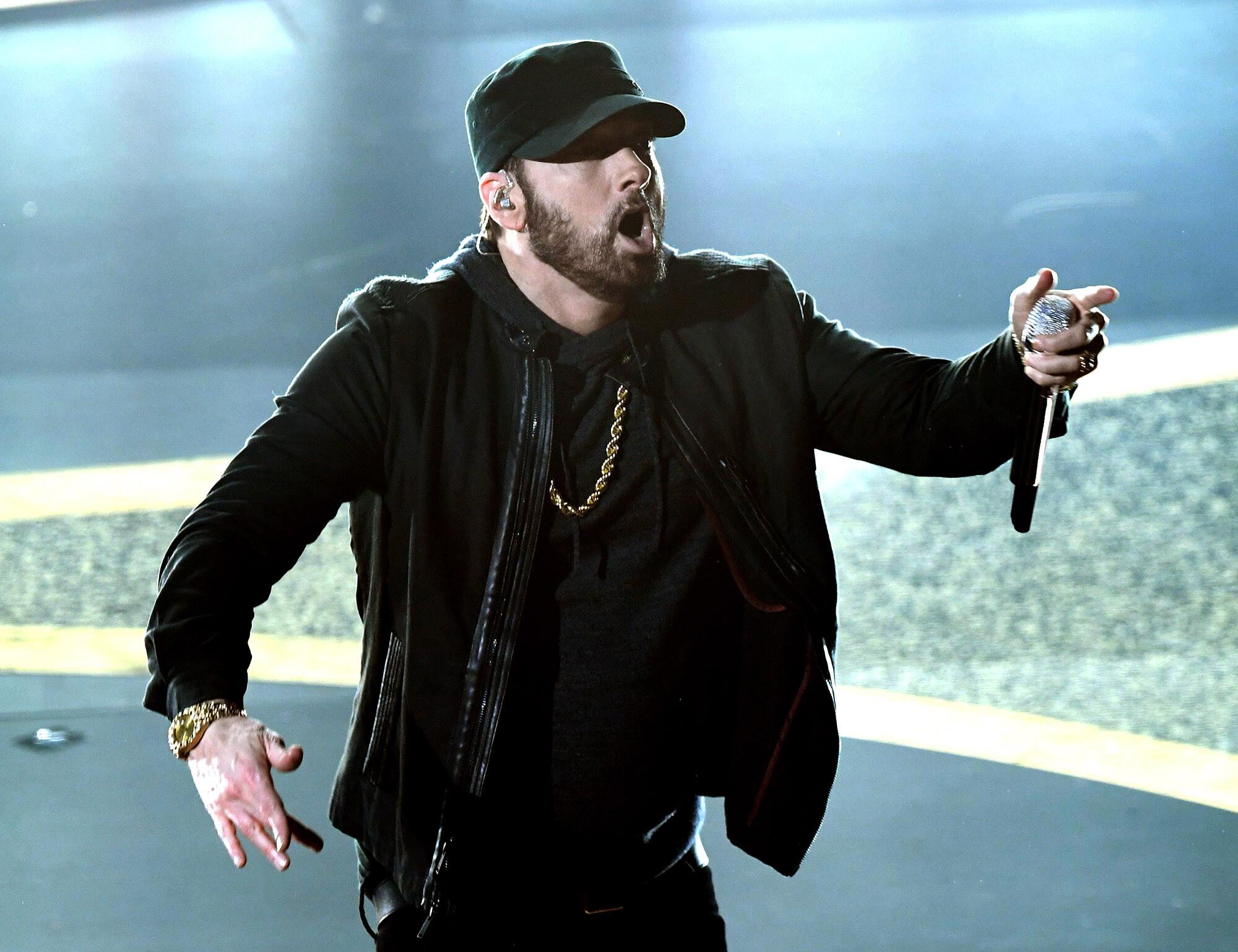 Eminem stars as 'White Boy Rick' in 50 Cent's 'BMF' drama
