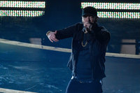 Eminem calls on fans to match his flow with the '#GodzillaChallenge'