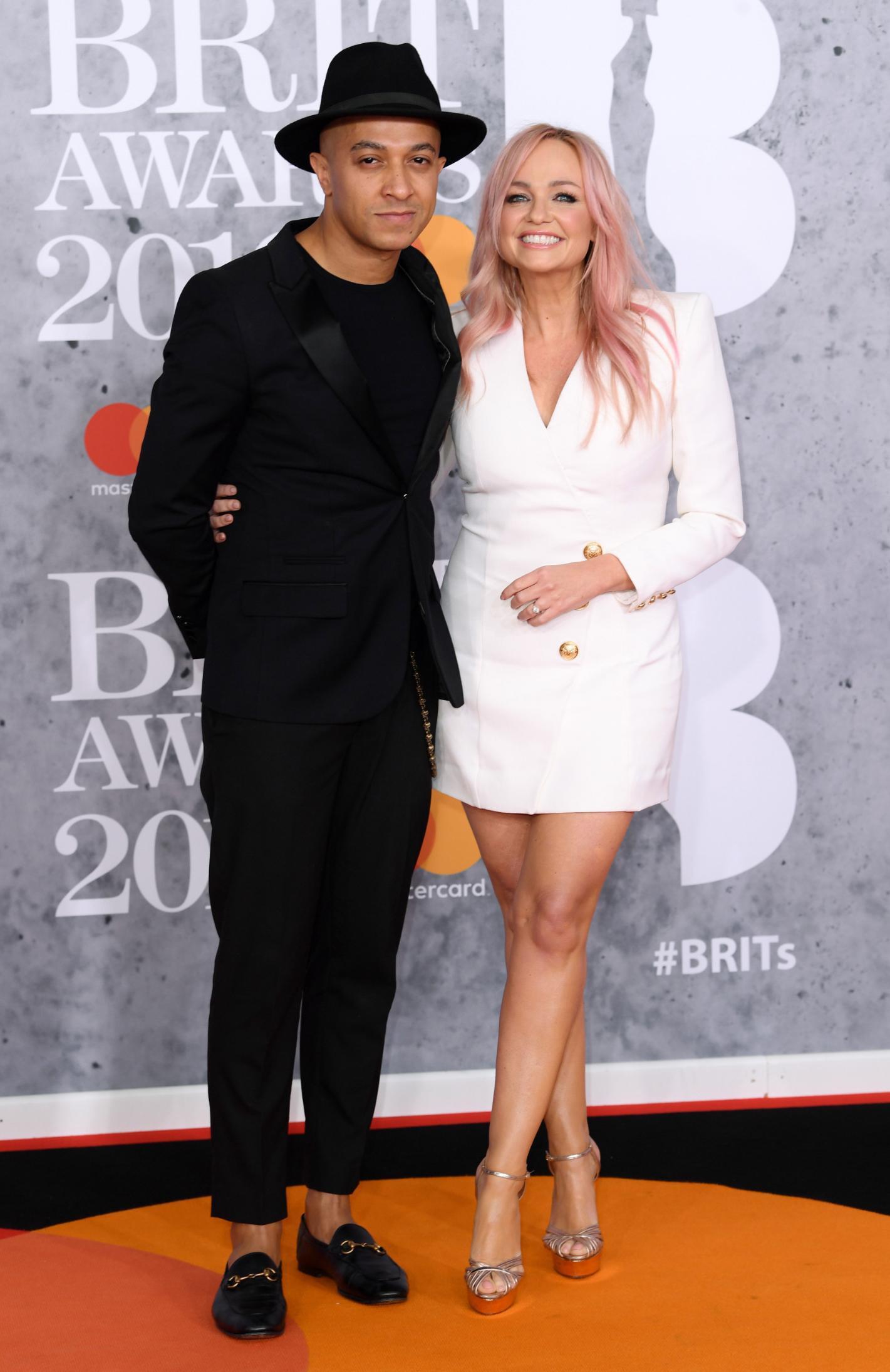 'Baby Spice' Emma Bunton marries her long-term partner, Jade Jones