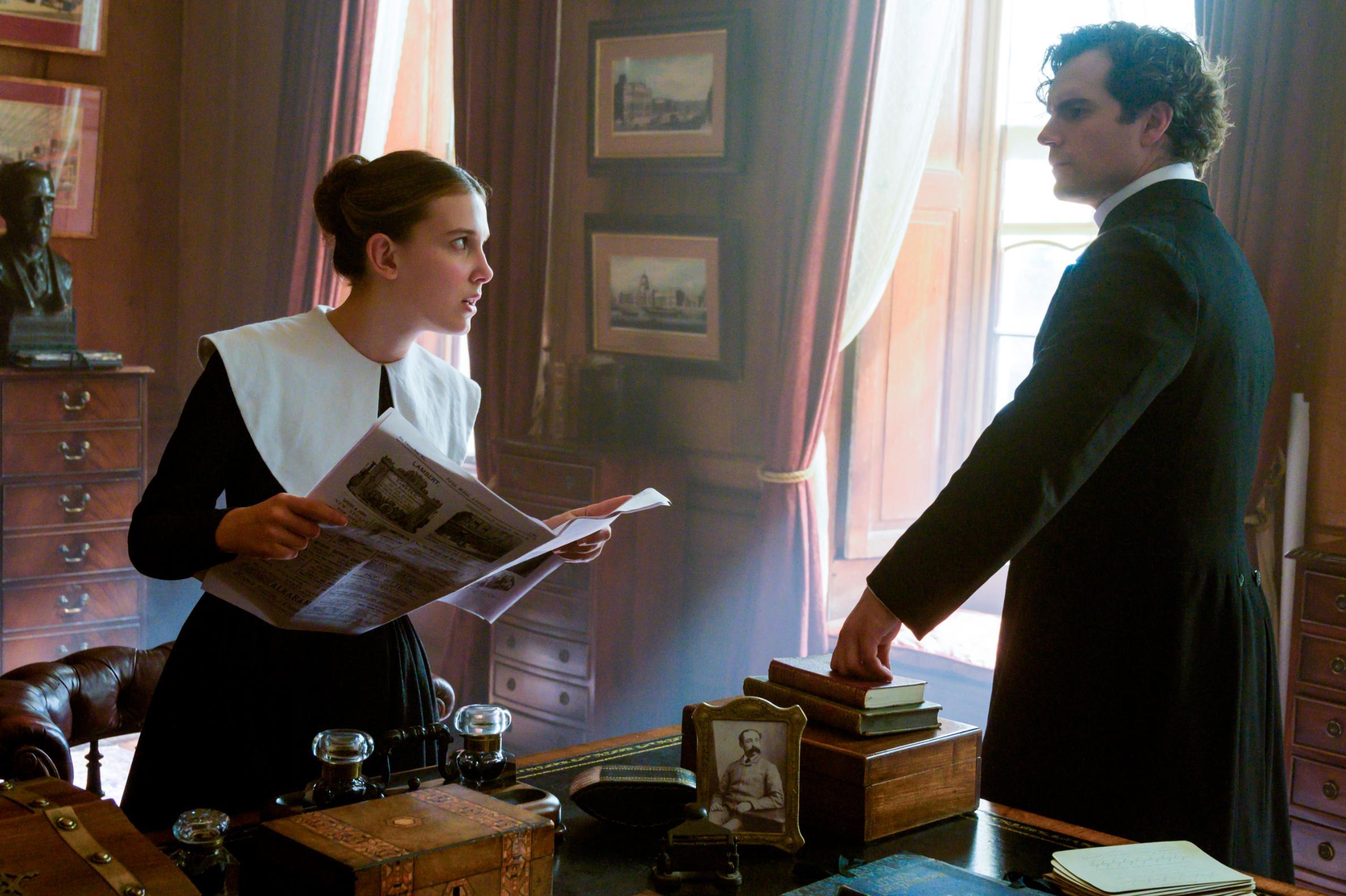 'Enola Holmes' showcases Millie Bobby Brown as Sherlock's brilliant sister