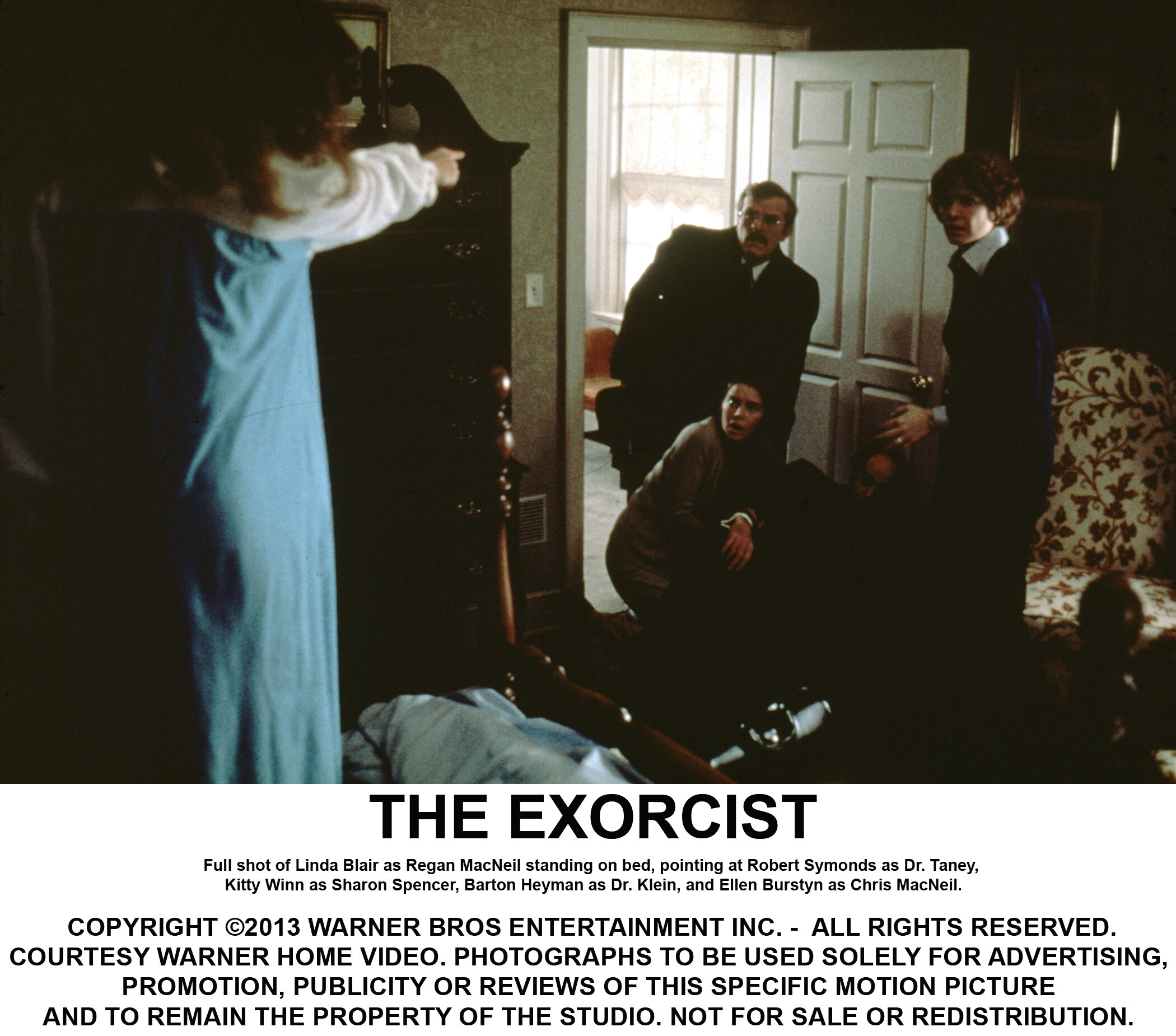 Ellen Burstyn to reprise her role in new 'The Exorcist' trilogy