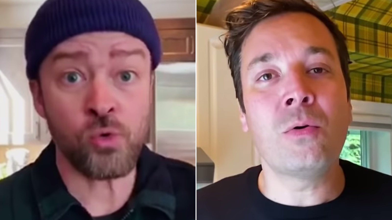 Jimmy Fallon and Justin Timberlake team up for a funky quarantine remix