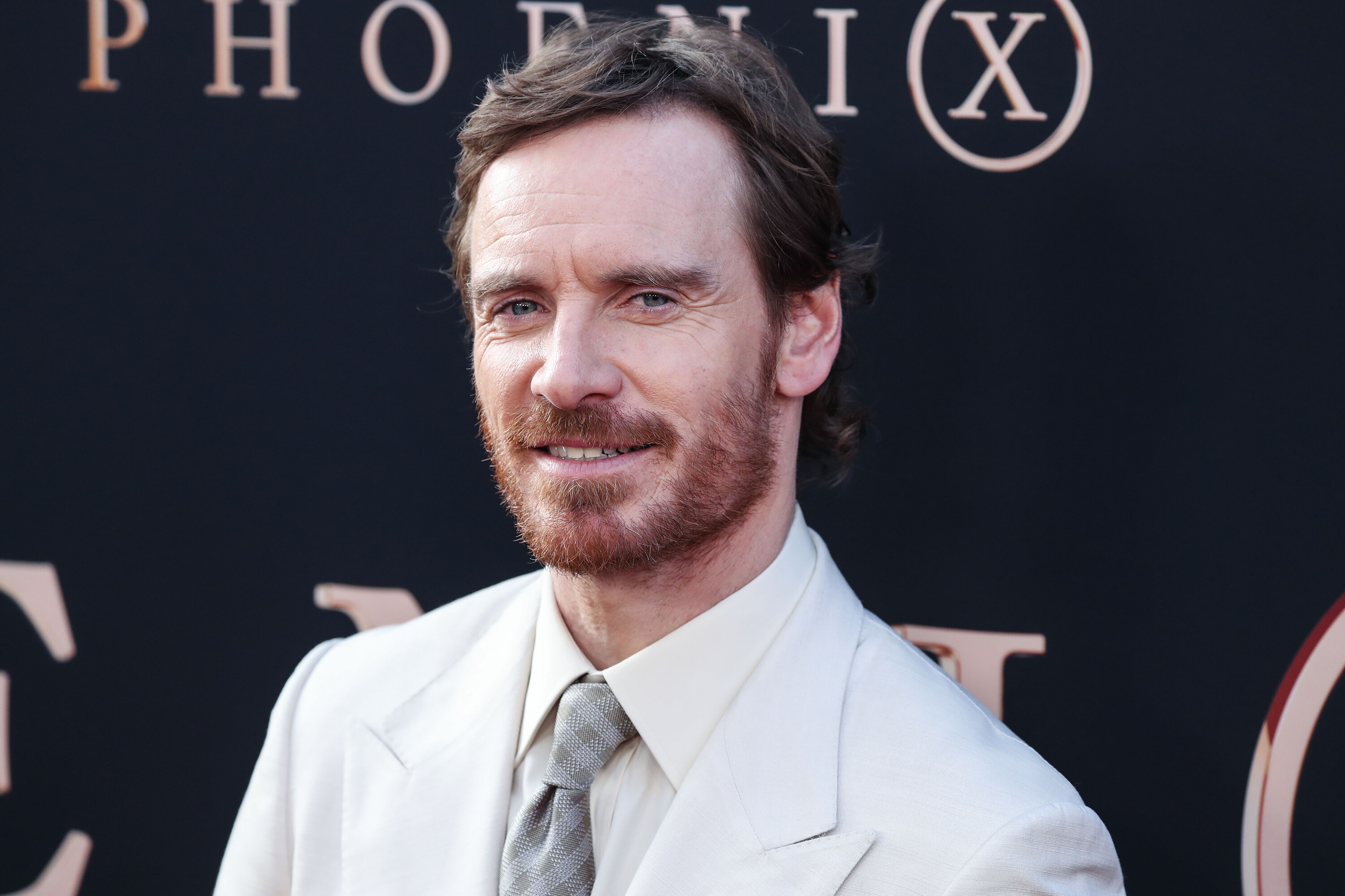 Michael Fassbender surprises students at his old high school with acting class