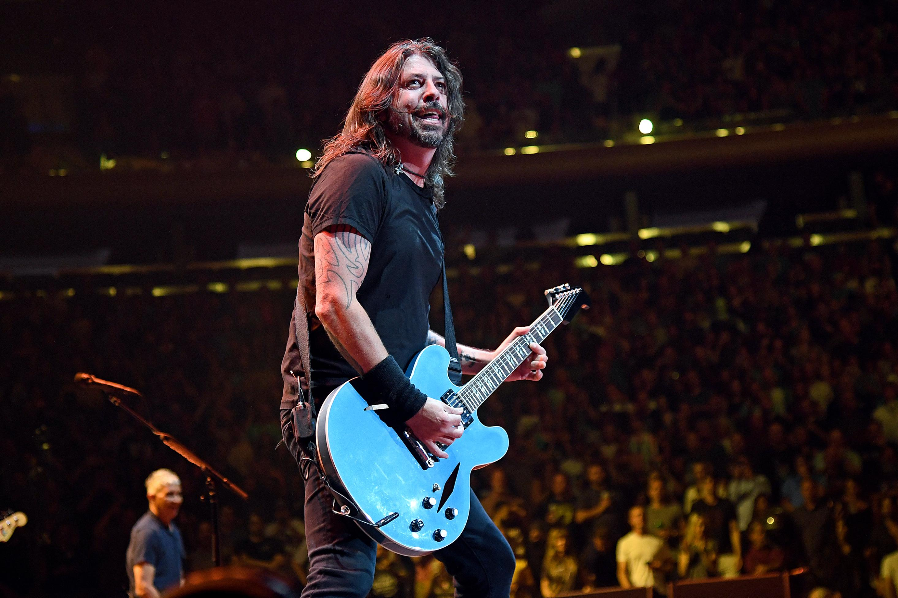 Foo Fighters play first capacity Madison Square Garden show since Covid