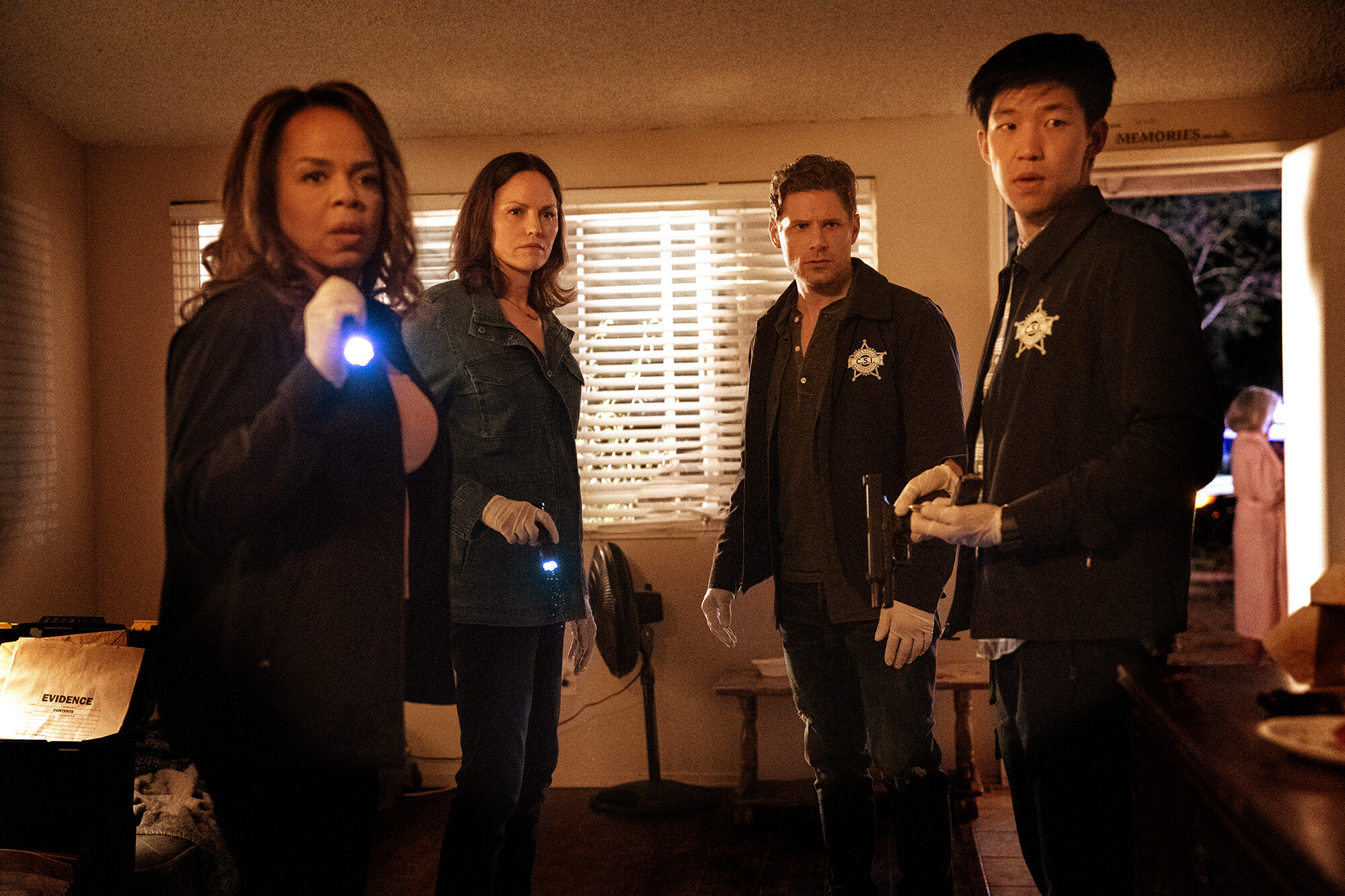 CBS steps into the unknown with 'Ghosts,' and back to the familiar with 'CSI'
