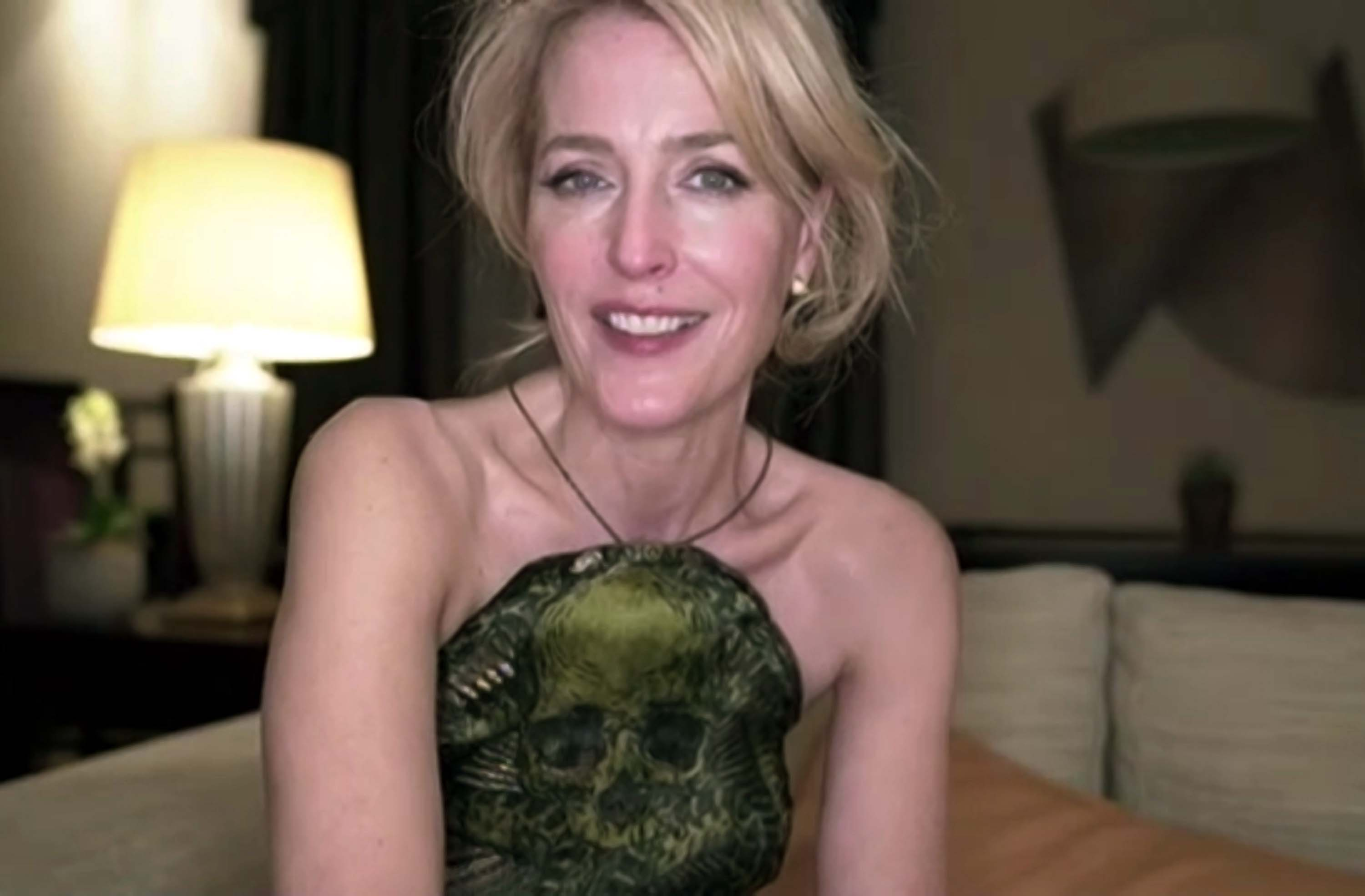 Gillian Anderson's American accent throws some people off