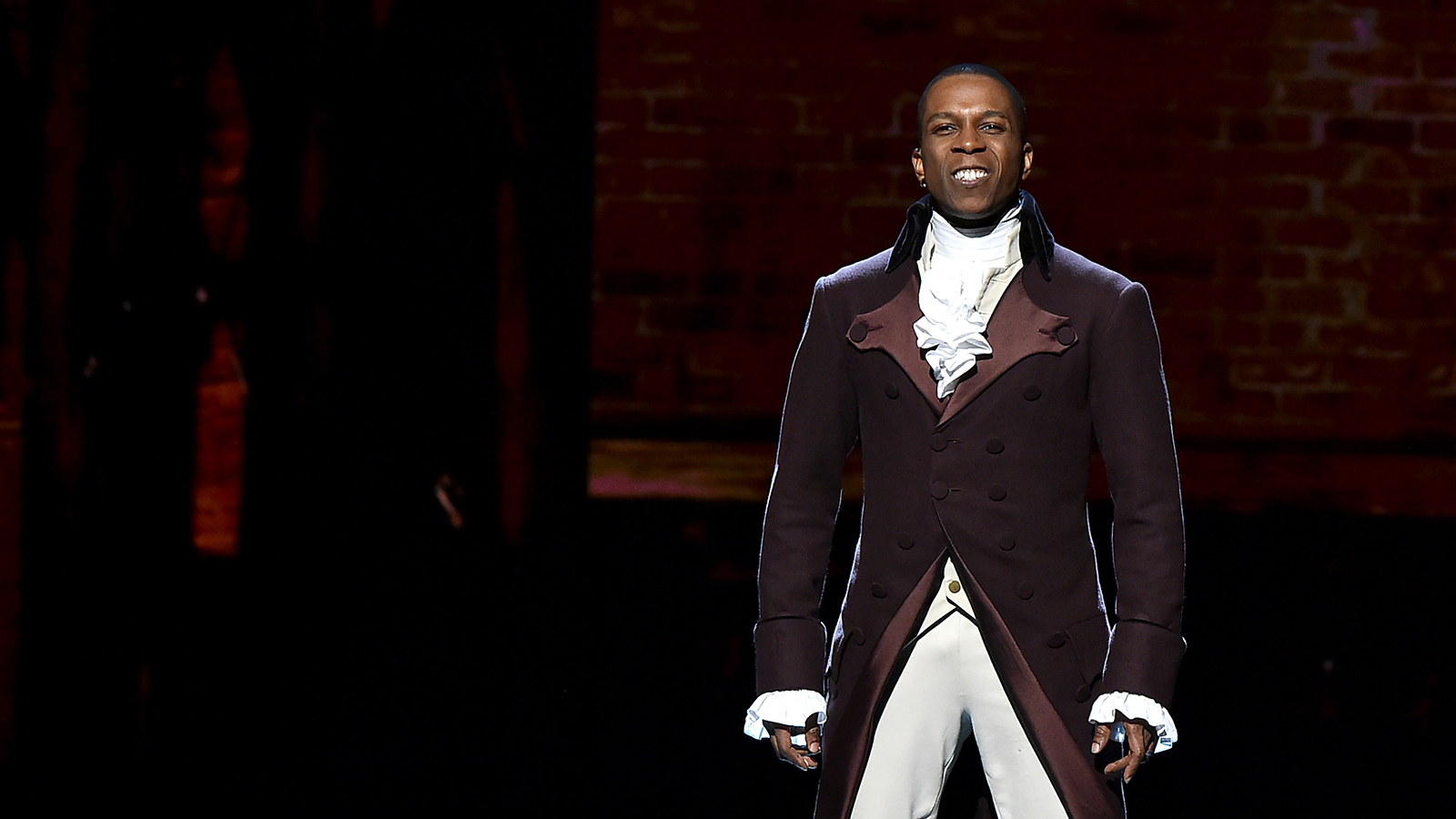 How Leslie Odom Jr. fought for fair pay for his 'Hamilton Live' movie performance