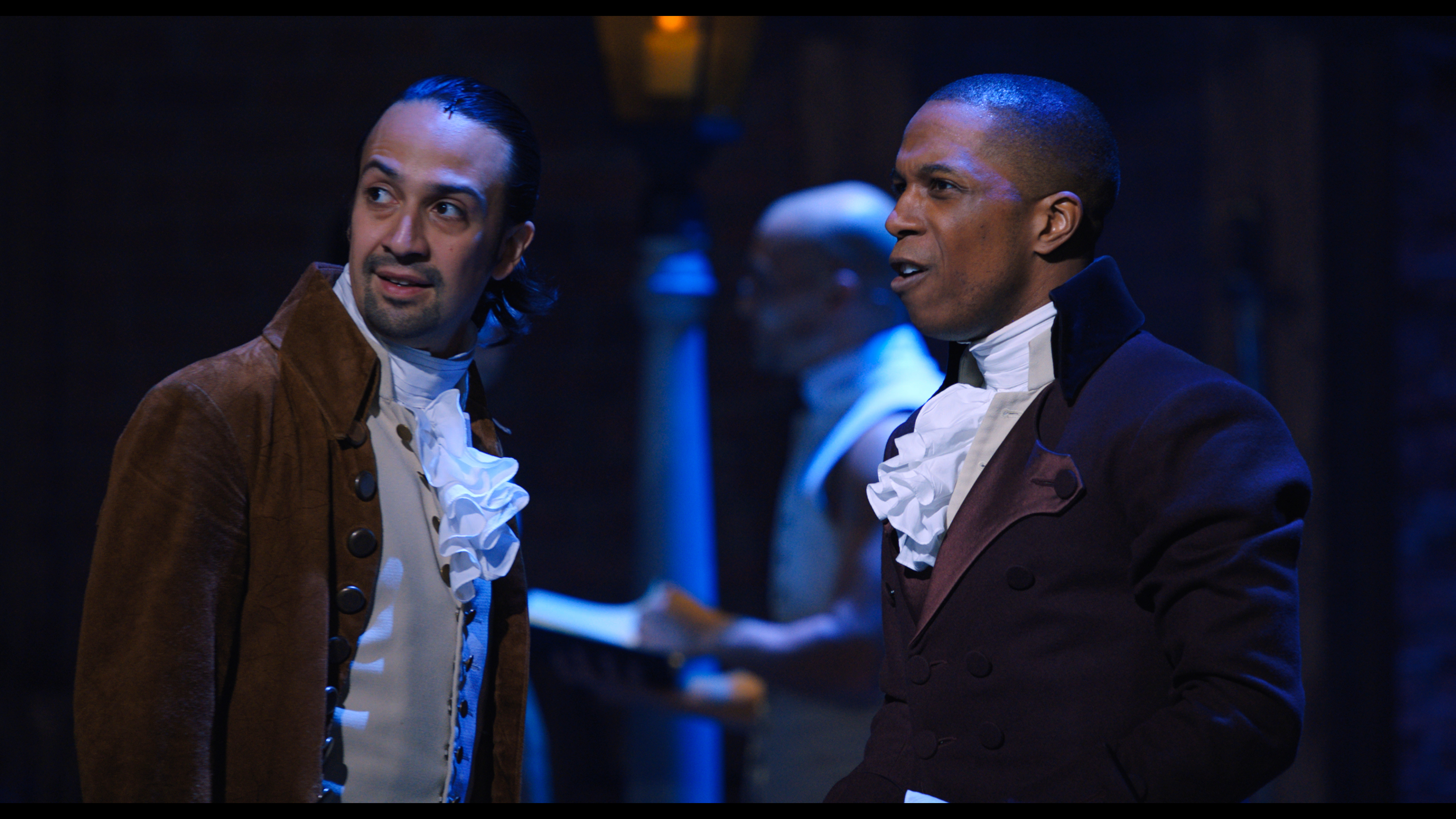 What one of the few White 'Hamilton' cast members learned about race