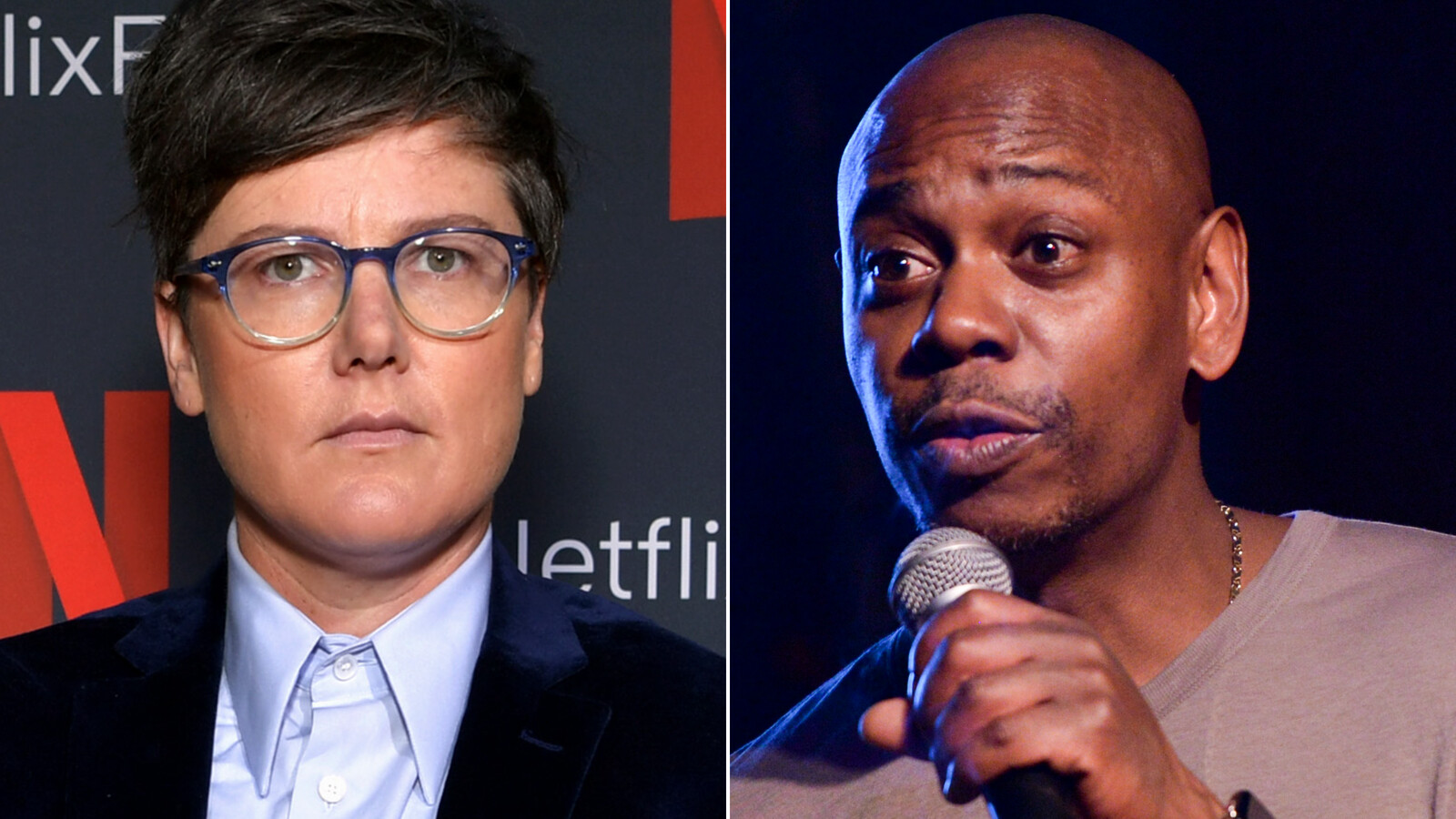 Hannah Gadsby fans are not happy with Dave Chappelle for saying she's not funny