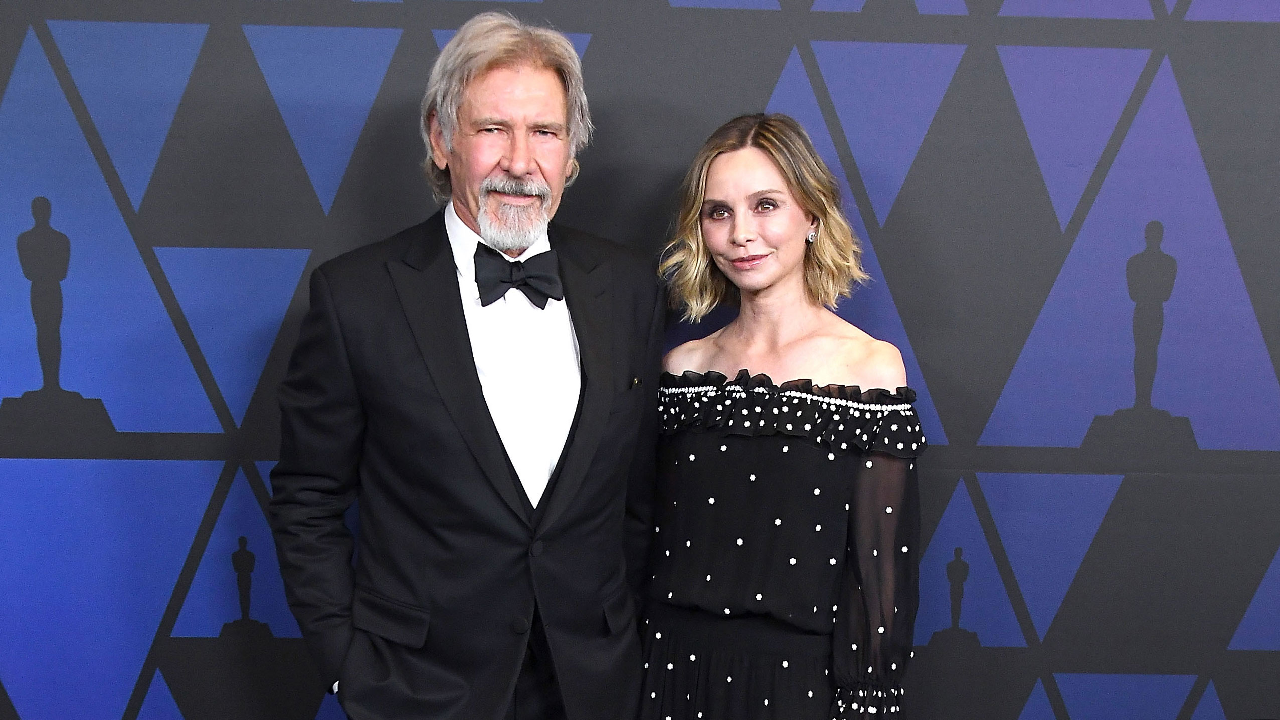Harrison Ford's secret to a happy marriage: 'Don't talk. Nod your head'