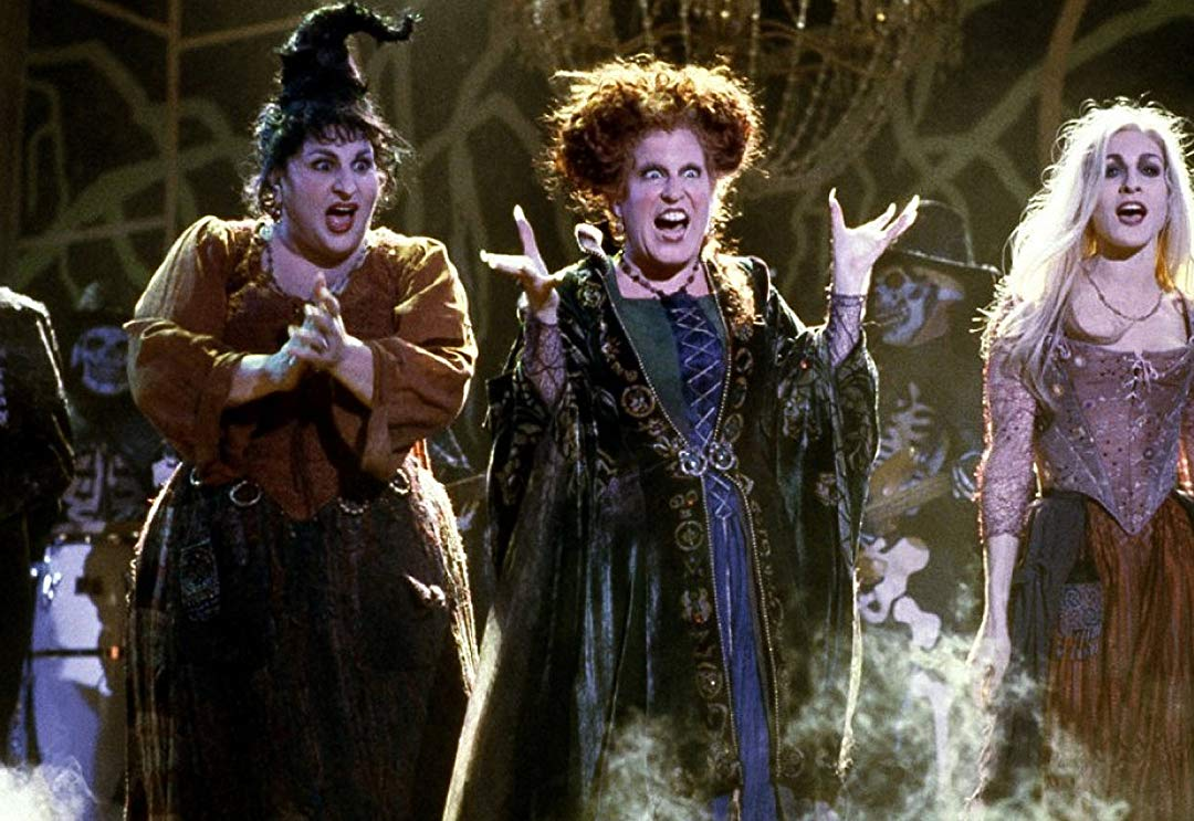 Bette Midler, Sarah Jessica Parker and Kathy Najimy spark 'Hocus Pocus' hysteria with reunion pic