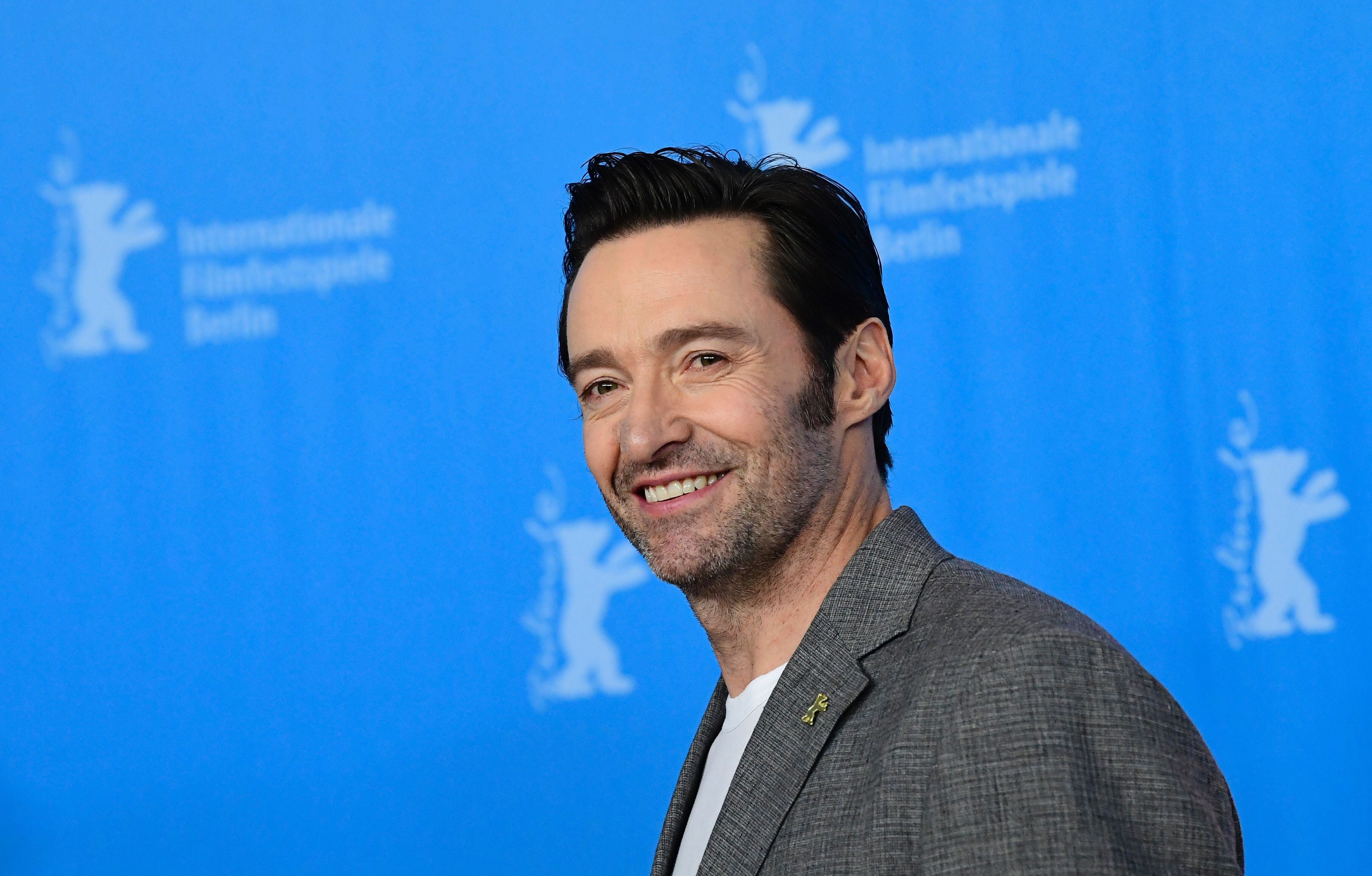 Hugh Jackman says his father died on Australia's Father's Day