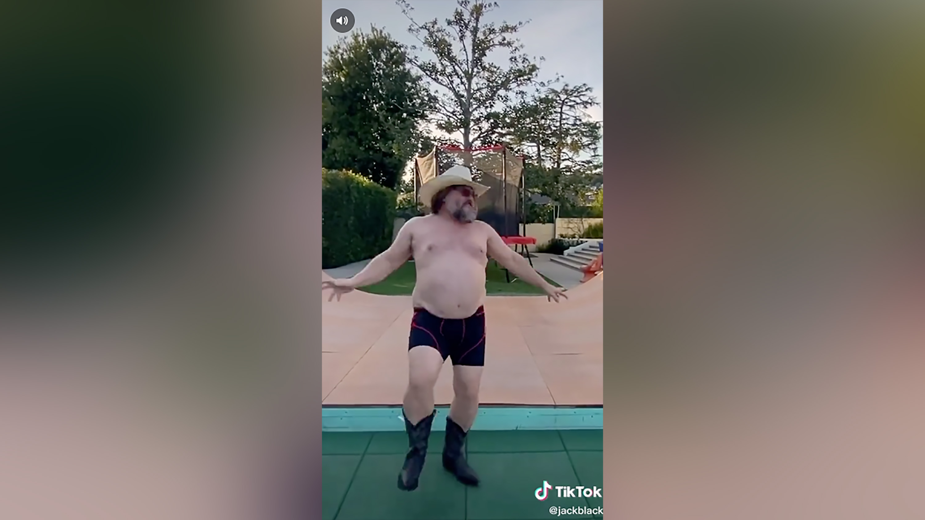 Jack Black's shirtless Quarantine Dance takes TikTok by storm
