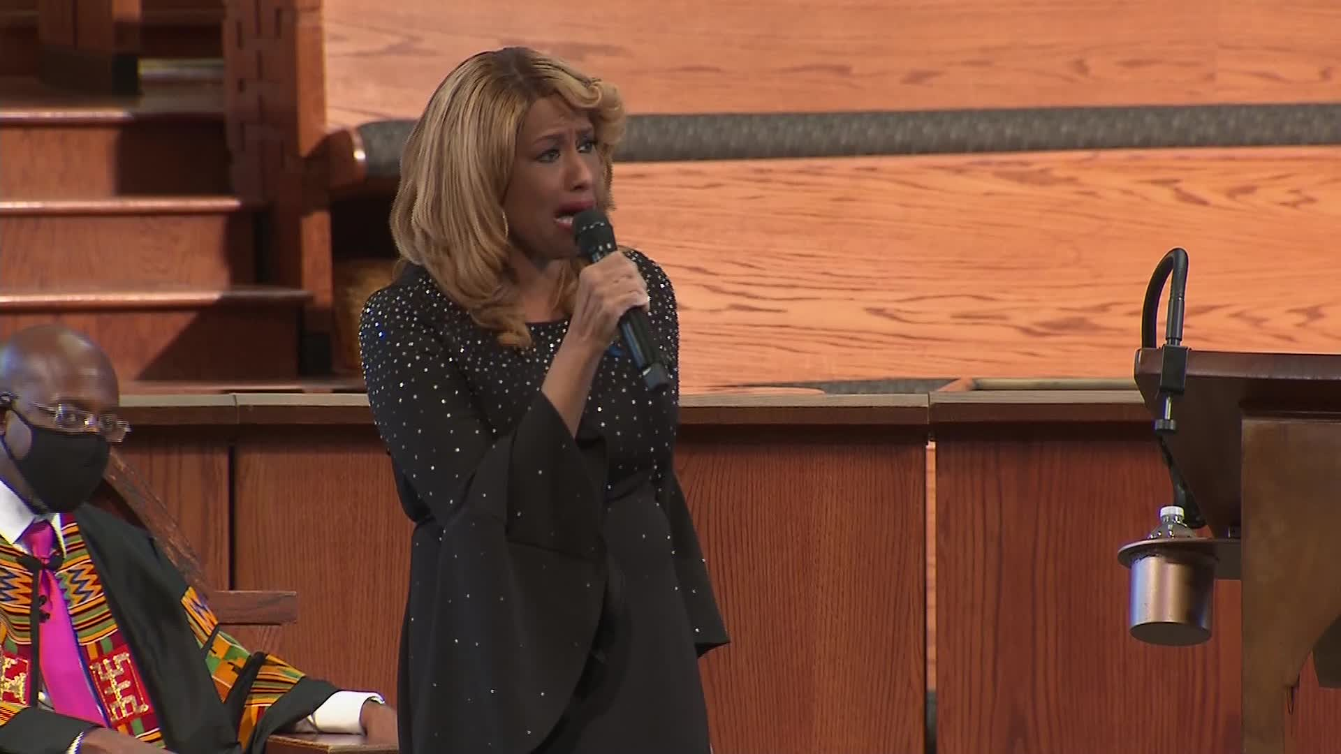 Jennifer Holliday took us to church to honor John Lewis