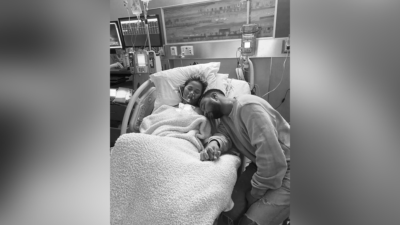 John Legend pays tribute to 'humbling' Chrissy Teigen following baby loss