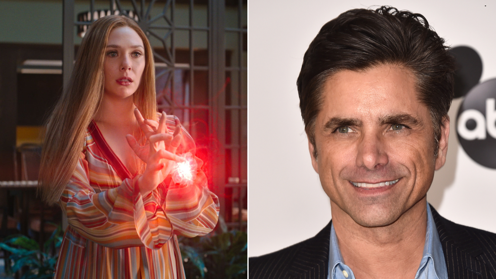 John Stamos posts a precious tribute to Elizabeth Olsen for the finale of 'WandaVision'