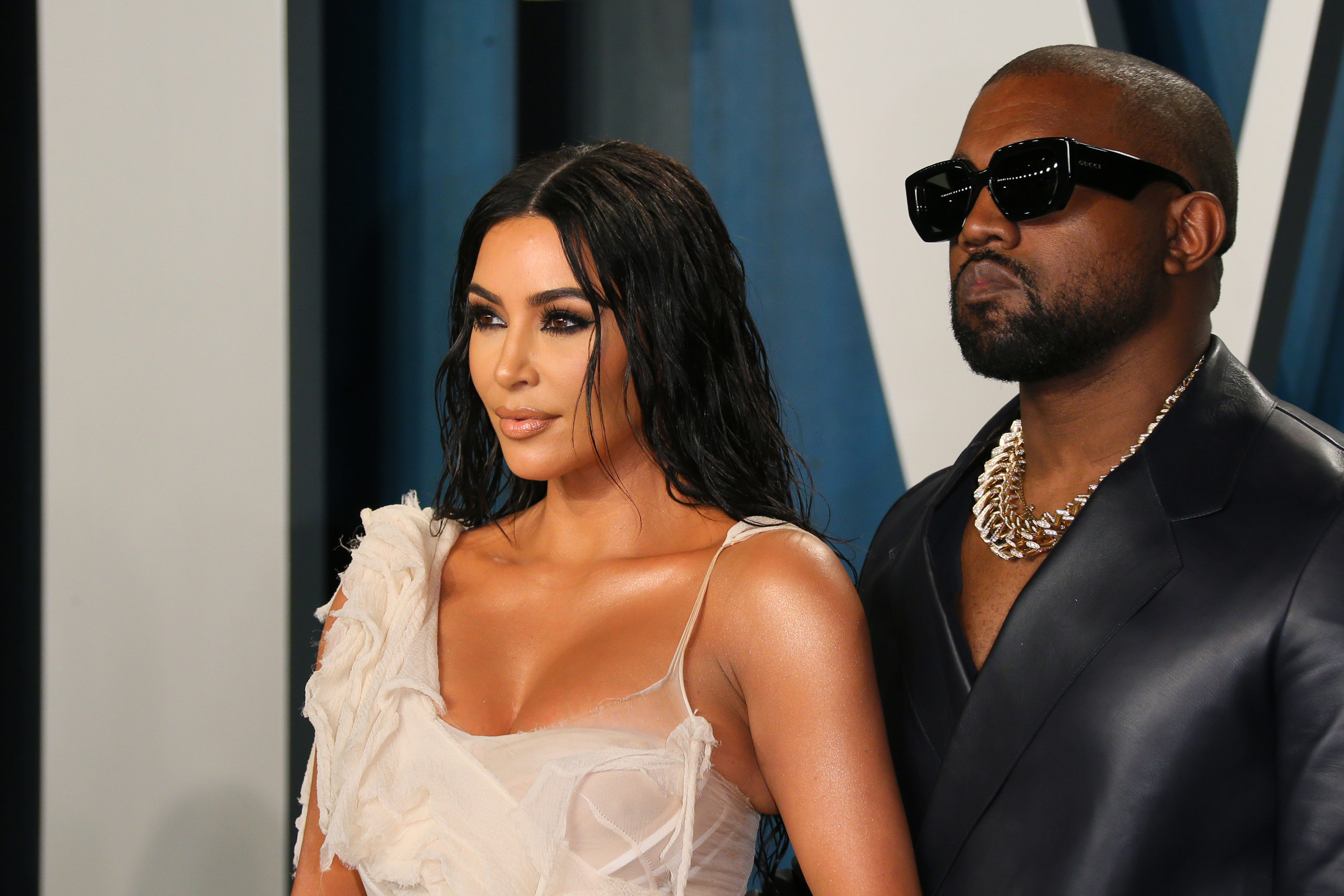 Kanye West asks for joint custody in divorce filing