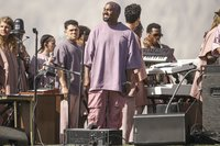 Kanye West brought his Sunday Service pop-up to Howard University -- but not everyone supported it