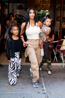 Kim Kardashian heard North West in a joke then decided it was her daughter's name
