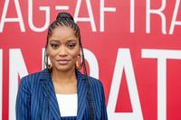 Keke Palmer asks National Guard members to 'march with us' during protest