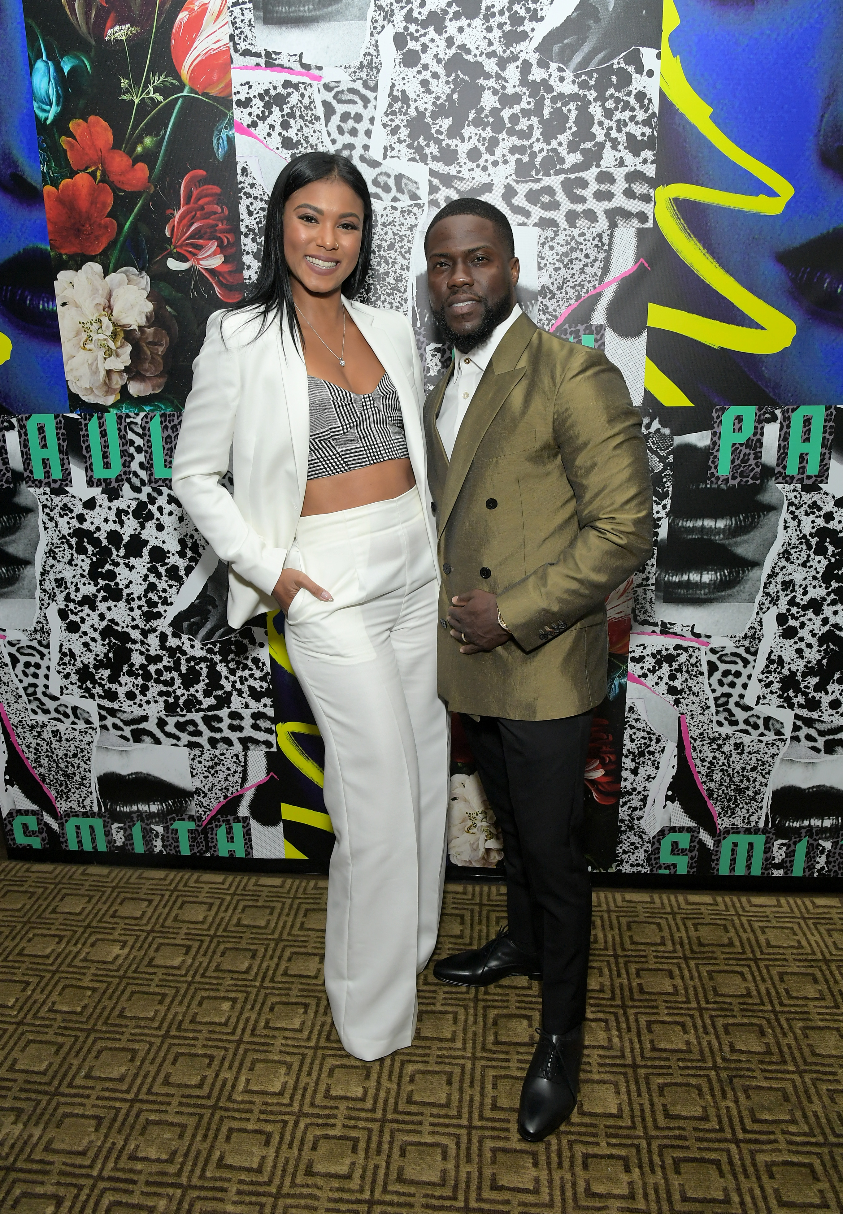 Kevin Hart and wife Eniko welcome baby girl