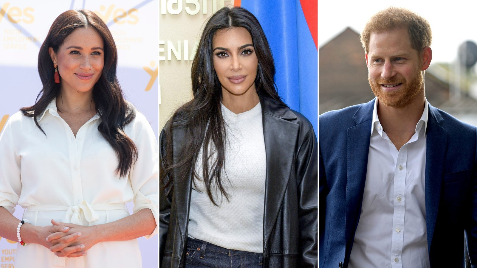 Kim Kardashian defends Meghan and Harry over press treatment