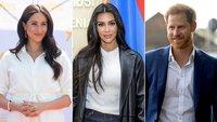 Kim Kardashian defends Meghan and Harry over press treatment