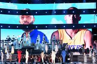 Grief over Kobe Bryant's death overshadows politics at the Grammys