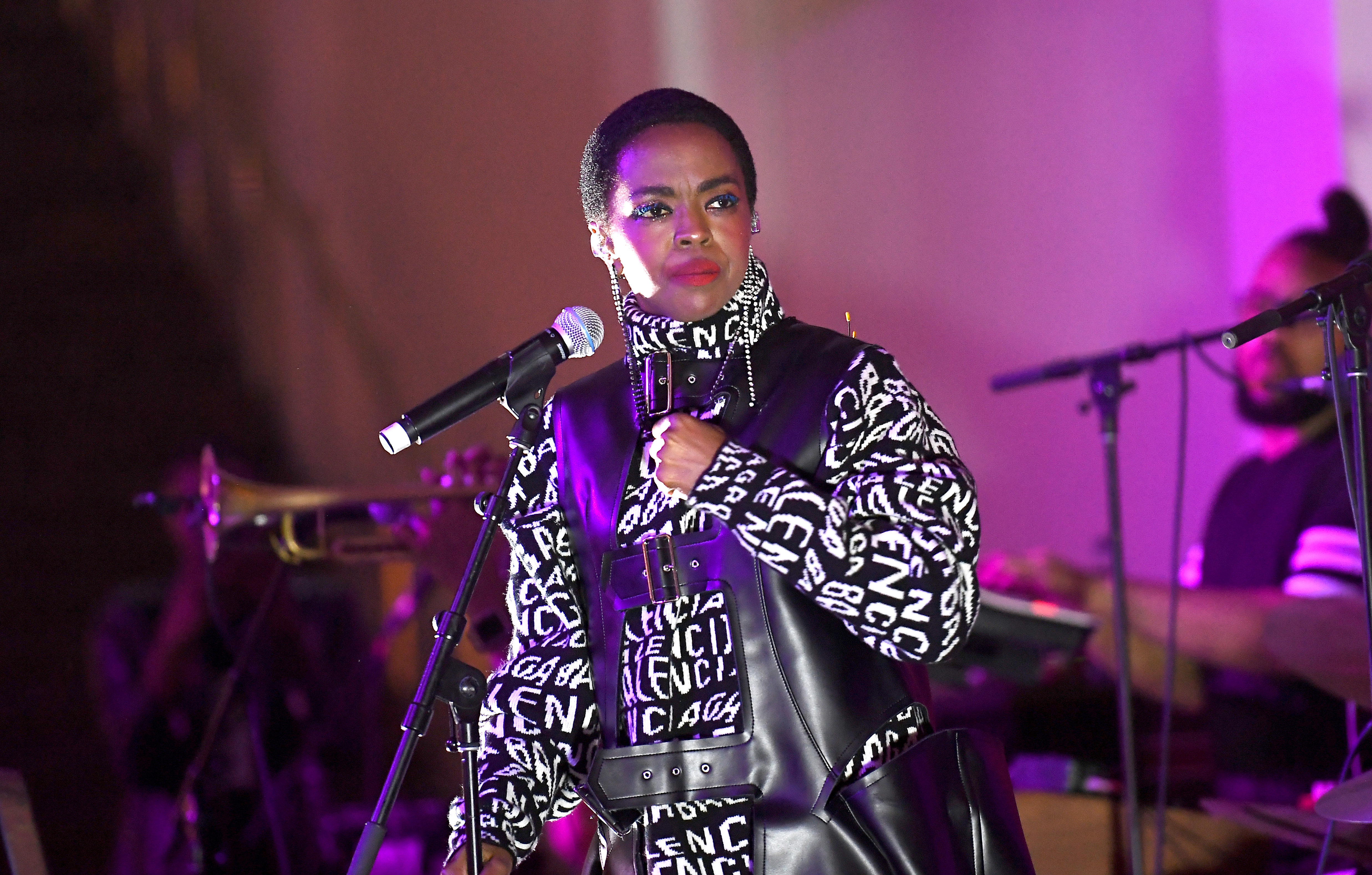 Lauryn Hill answers daughter's complaints about discipline