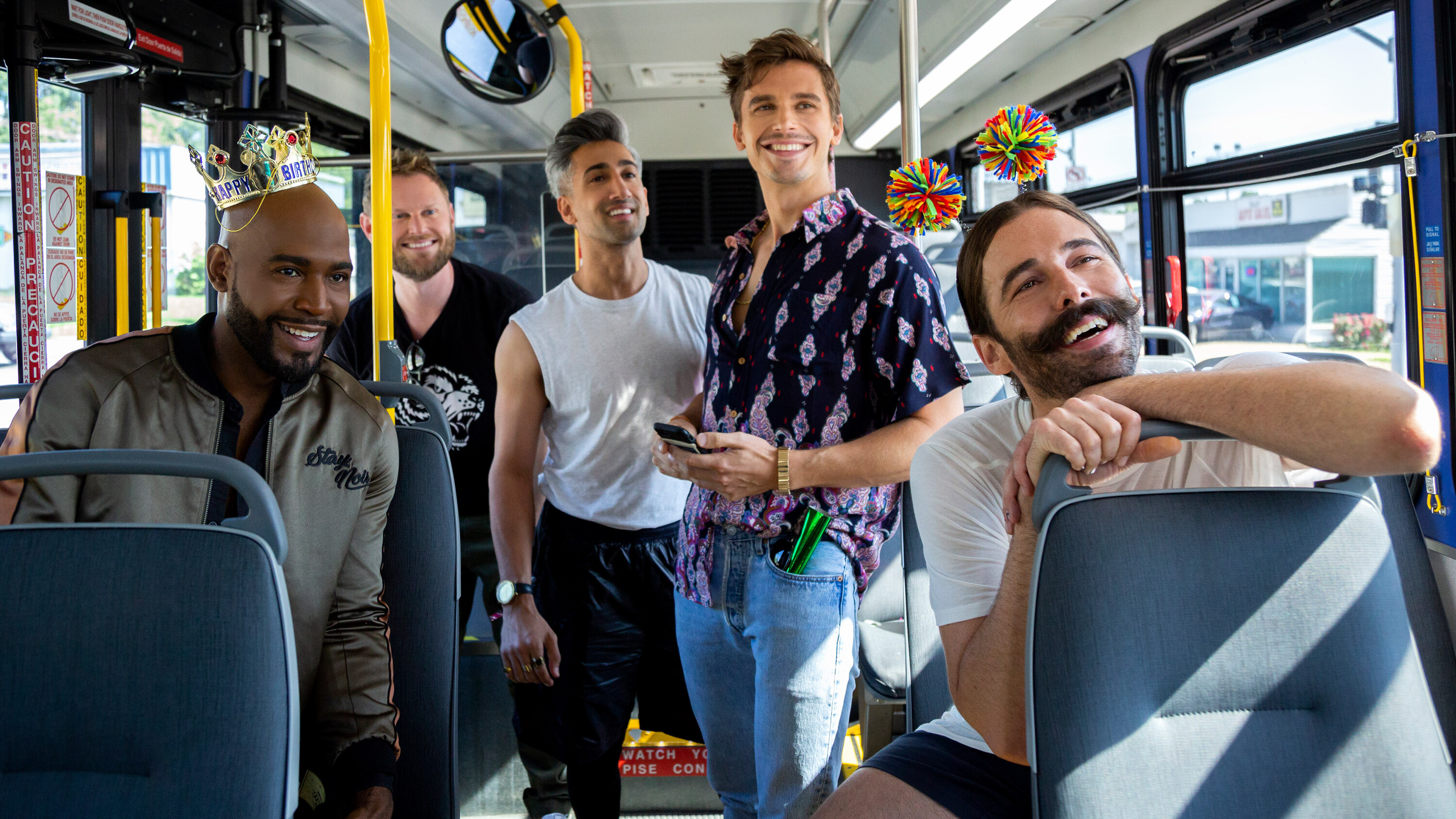 The 'Queer Eye' LEGO set with the Fab Five will brighten your day