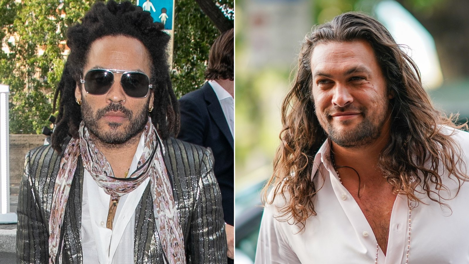Lenny Kravitz loves Jason Momoa too