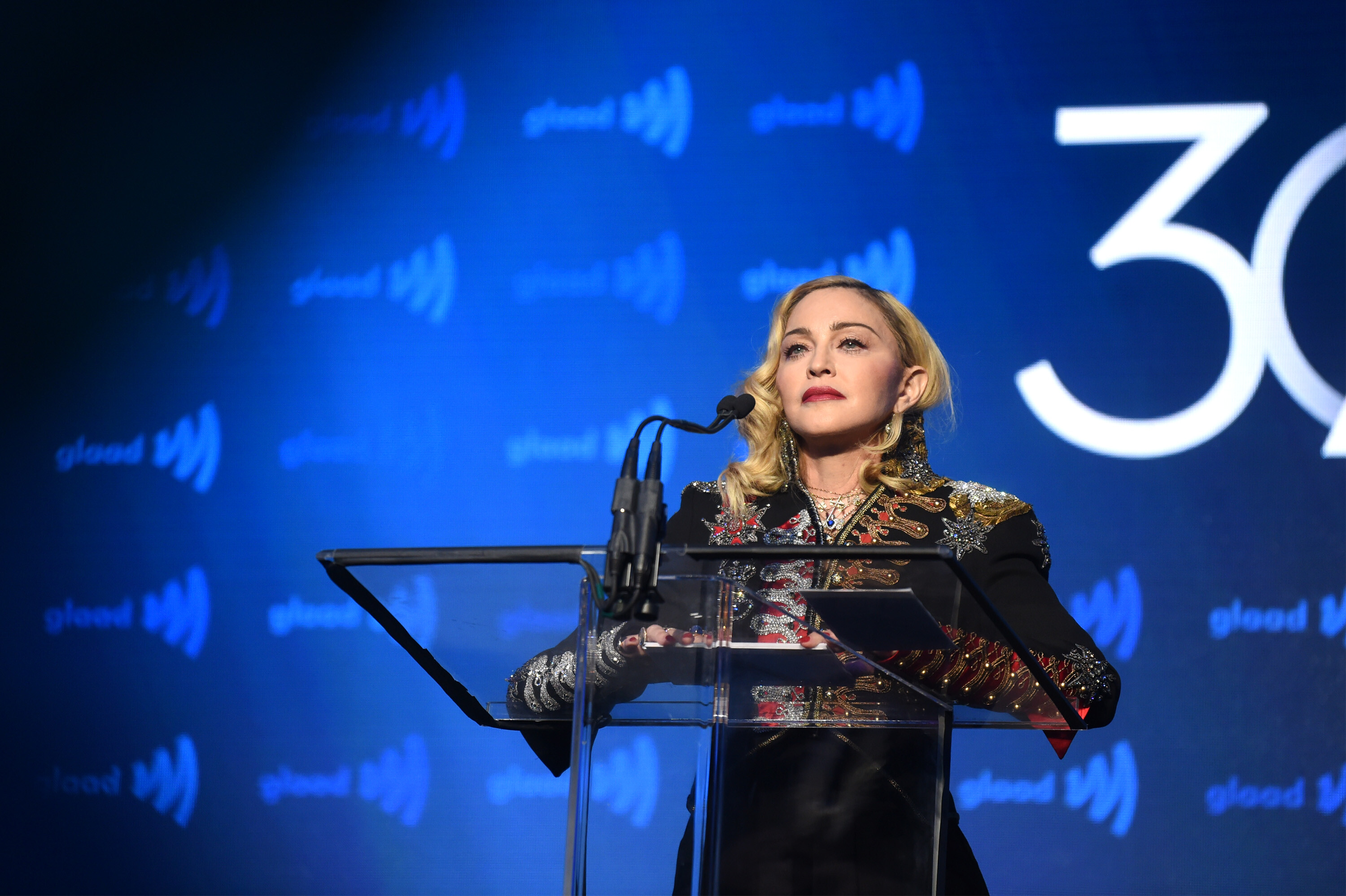 Madonna says Britney Spears' conservatorship is 'a violation to human rights'