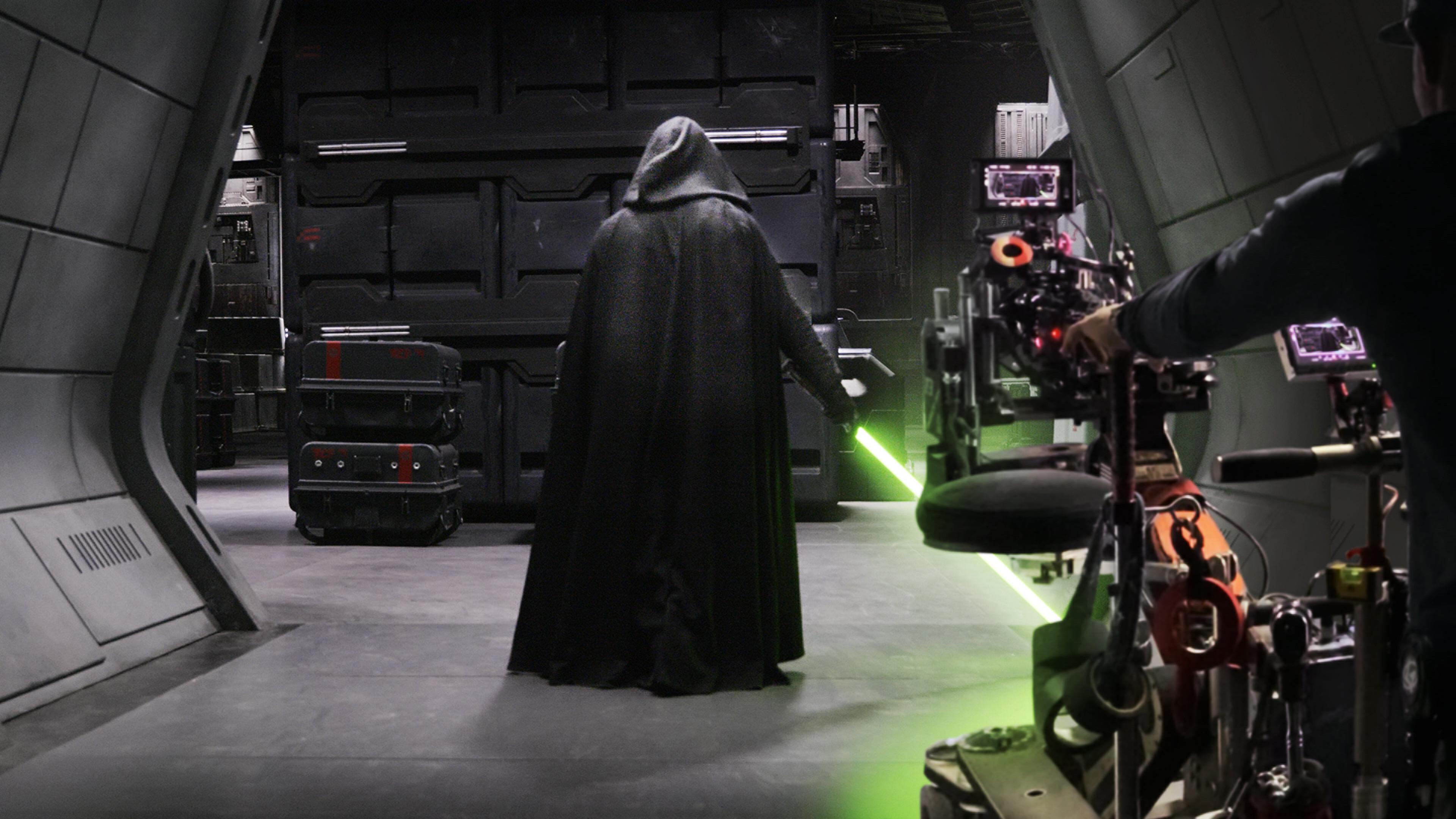 'The Mandalorian' reveals the tricks that brought Luke Skywalker back