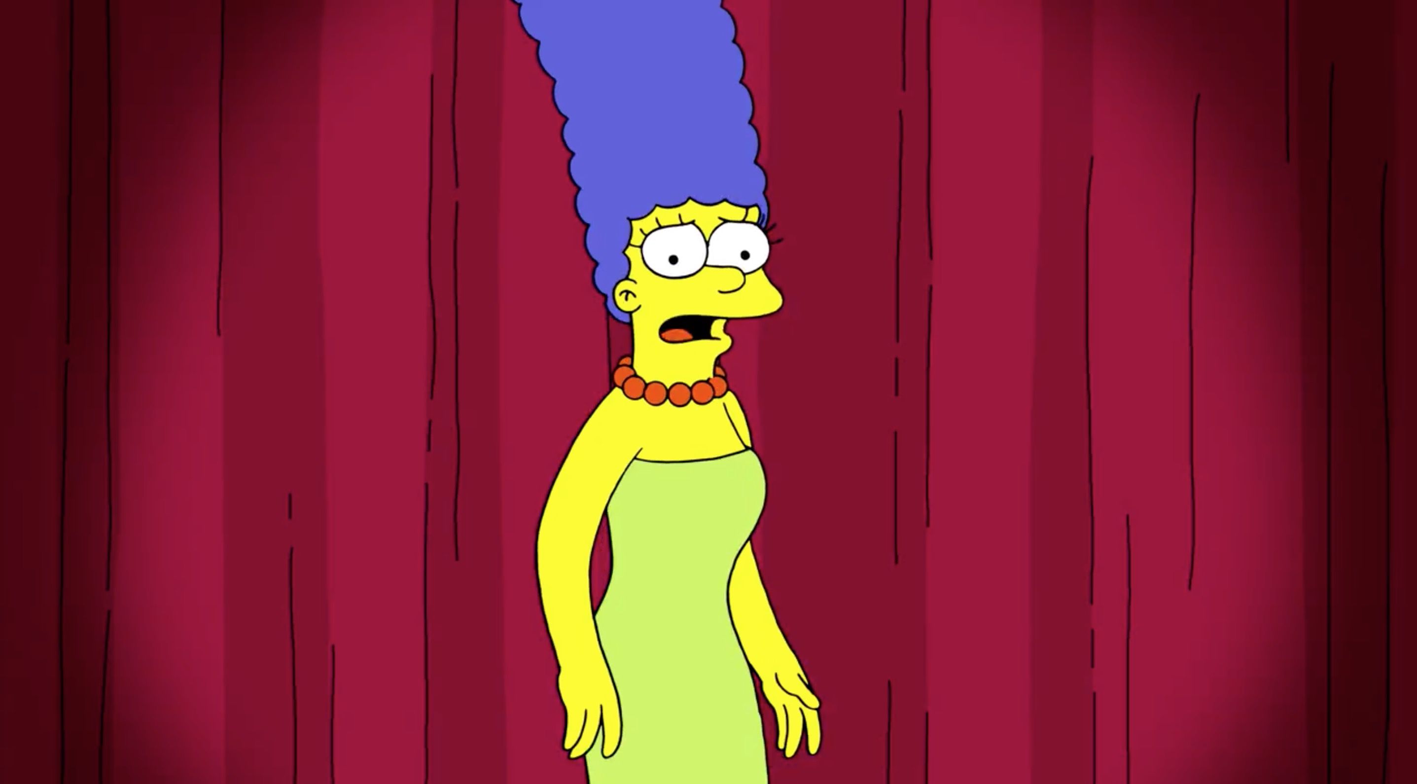 Marge Simpson responds to Trump adviser's Kamala Harris comparison