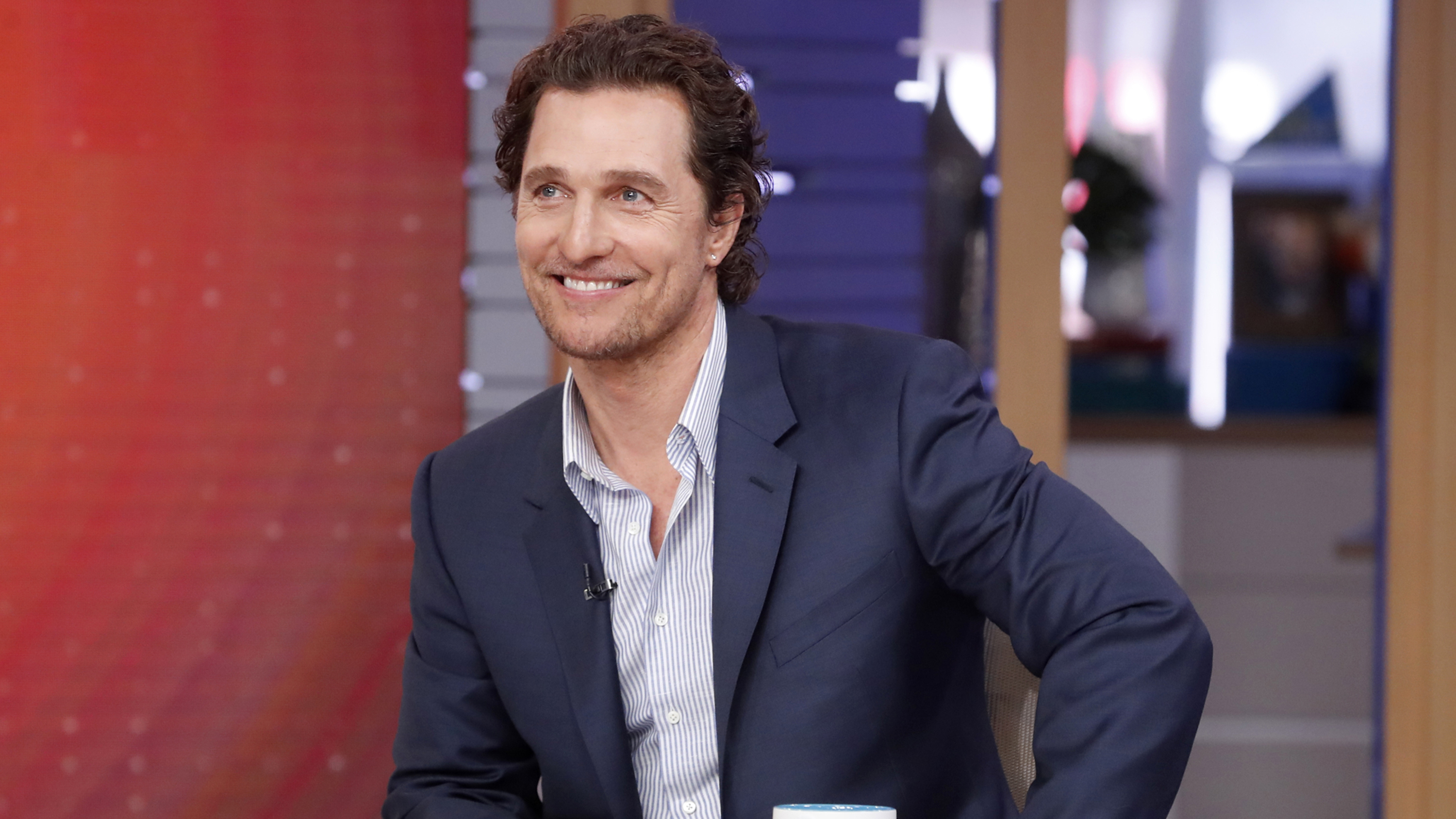 Seniors in Texas had a special guest for their virtual bingo game — Matthew McConaughey