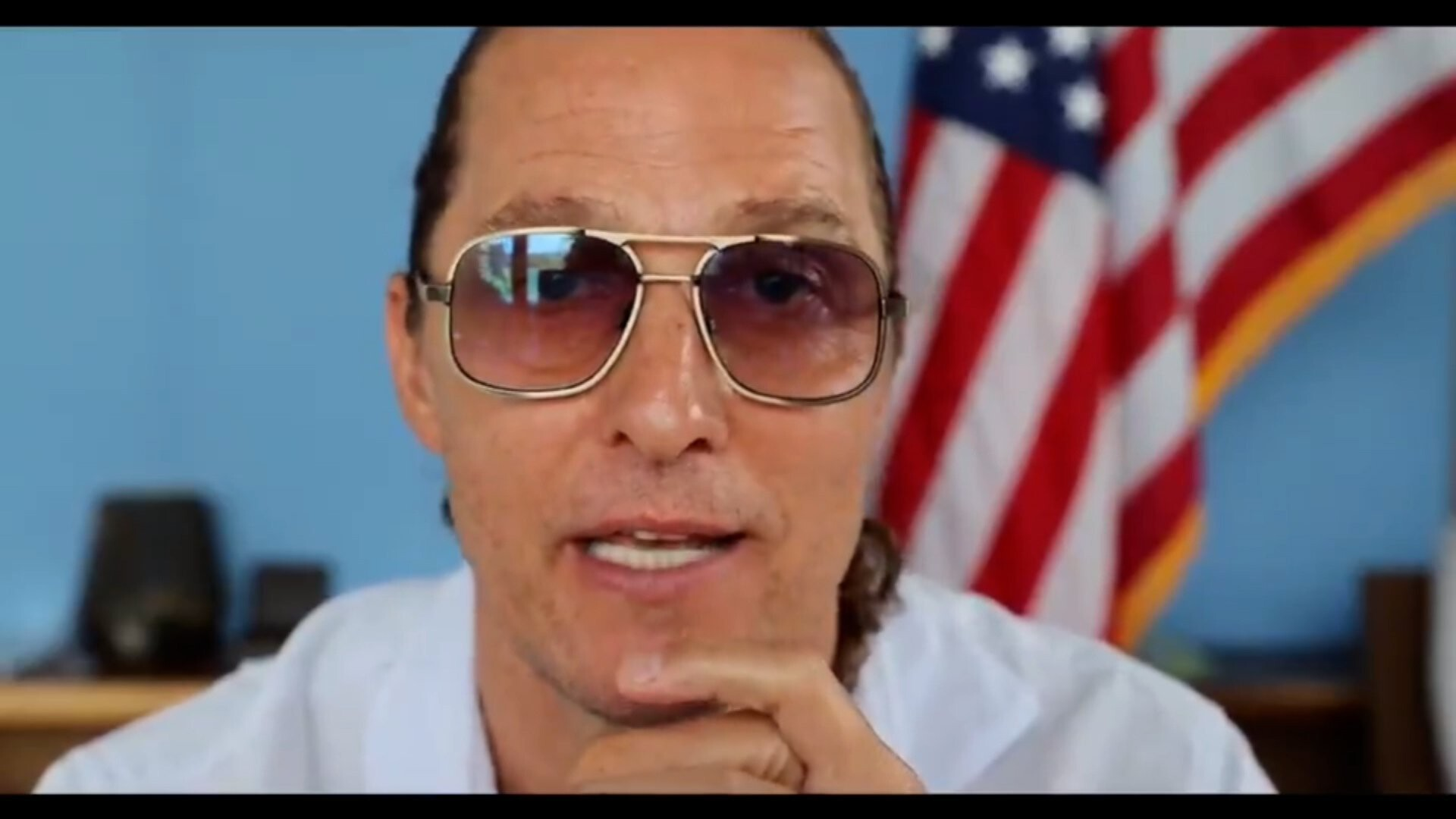 Matthew McConaughey declares America 'going through puberty' in Independence Day message
