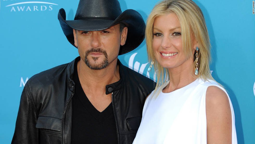 Tim McGraw credits his wife Faith Hill for helping him to stop drinking