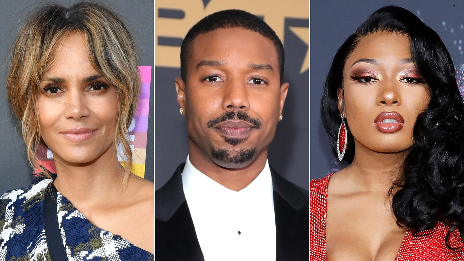 Halle Berry and Michael B. Jordan offer support to Megan Thee Stallion after she reveals details of shooting