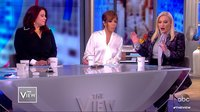 Meghan McCain walks off the set of 'The View' following a disagreement with guest co-host