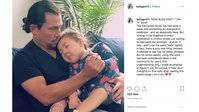 'Hamilton' star Miguel Cervantes mourns death of  3-year-old daughter