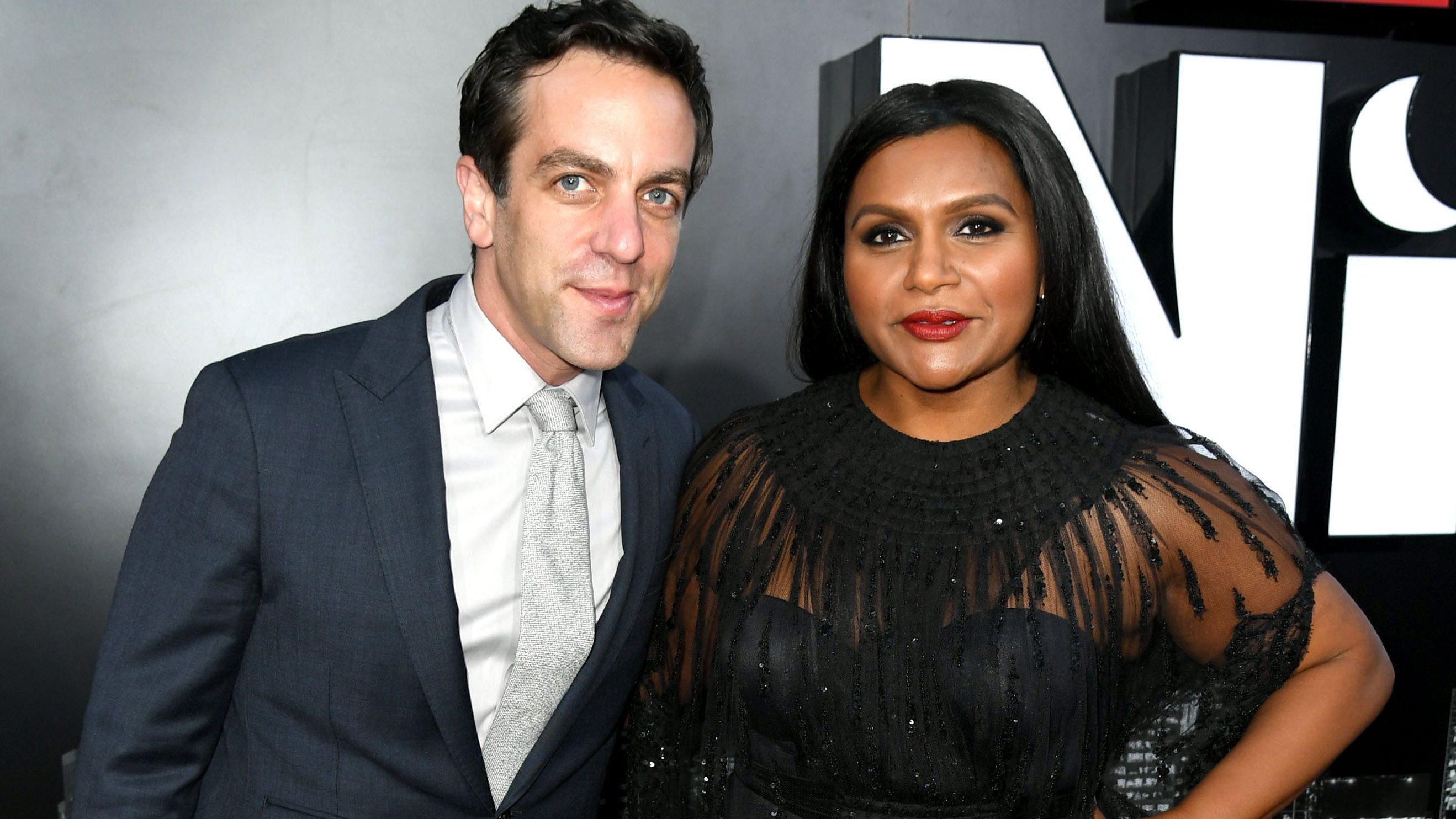 Mindy Kaling celebrates 40th birthday with B.J. Novak