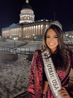 She is the first openly bisexual contestant in Miss USA's 68-year history