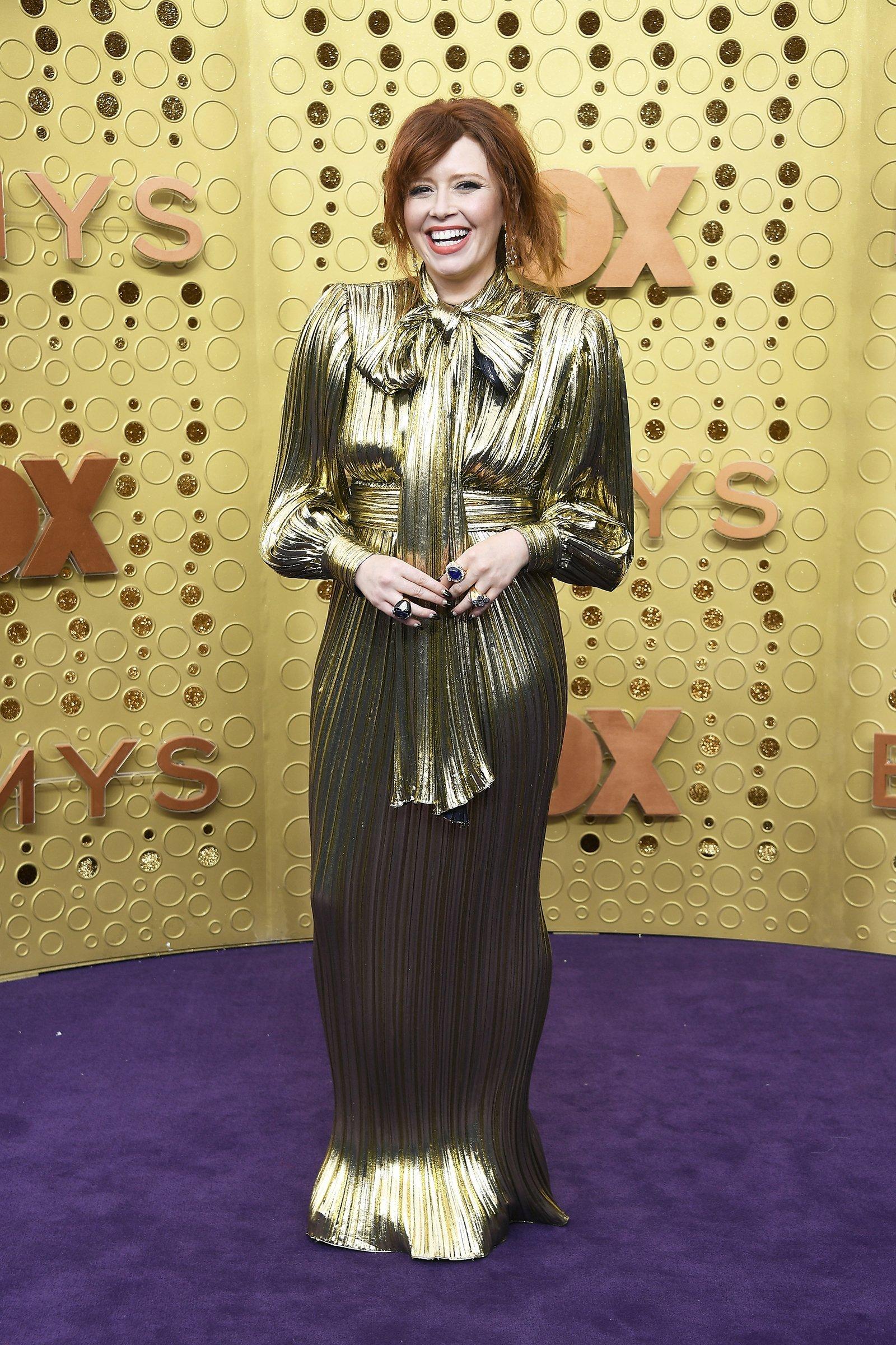 Natasha Lyonne's clap won Twitter on Emmys night